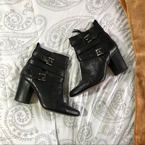 Louise et Cie heeled ankle booties